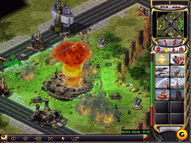 Red Alert 2 Video Game Pirated Copy