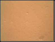 Mars Curiosity Rover picture with camera cover on
