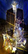 Gravity Probe B (GP-B) satellite