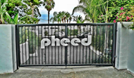 Entrance to the Pheed mansion