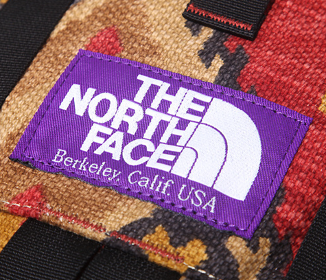 The North Face purple logo