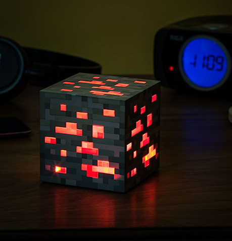 Minecraft Redstone Ore Night Light