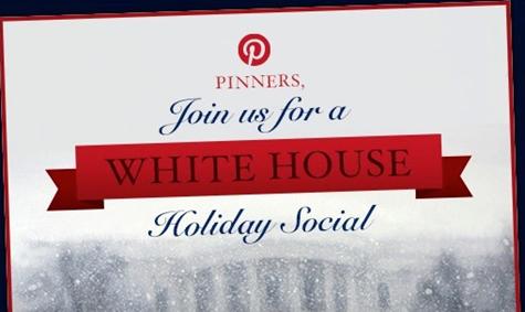 White House Pinterest account opened
