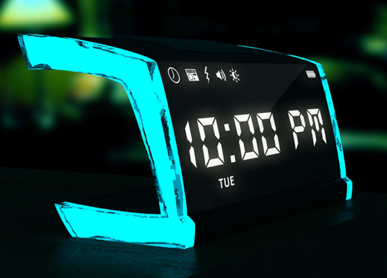 singNshock alarm clock delivers shock to wake you up