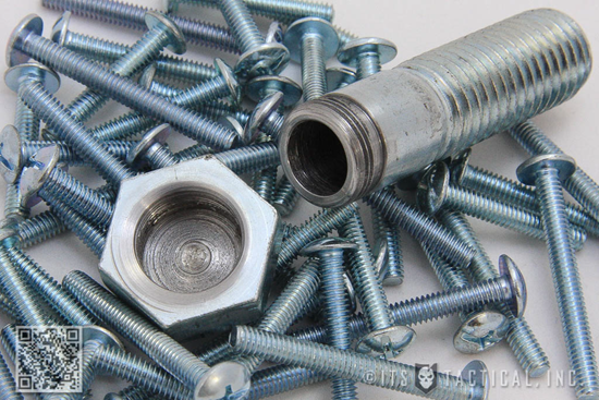 Toss the Hollow Spy Bolt into a drawer full of nuts and bolts to conceal