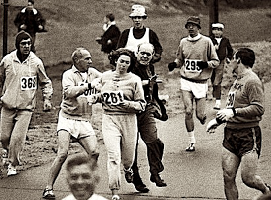 Kathrine Switzer - 1967 Boston Marathon