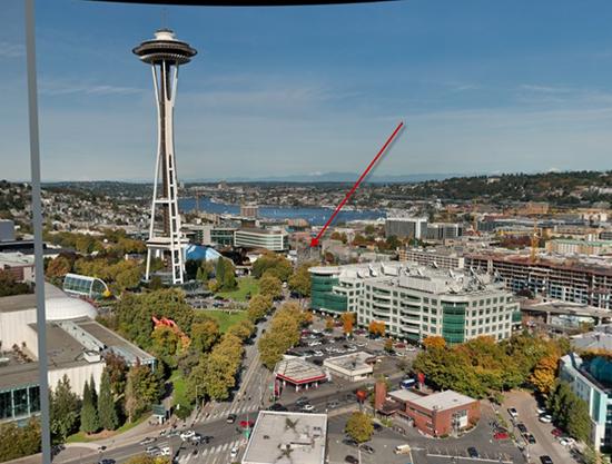 Microsoft'f Gigapixel Seattle image