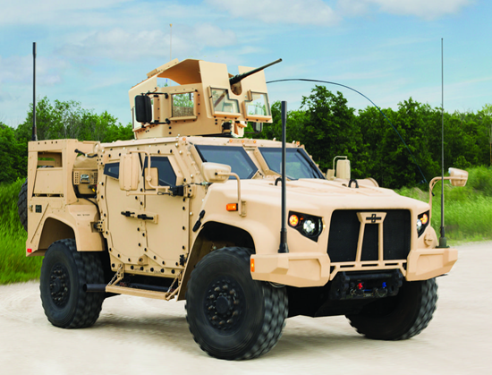 Meet the Joint Light Tactical Vehicle (JLTV)–set to replace the Humvee currently used by U.S. military