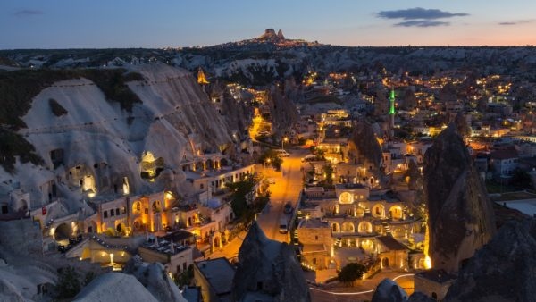 goreme in the cappadocia region of turkey