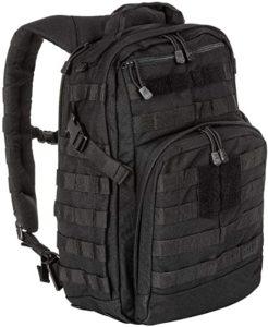 Black rucksack