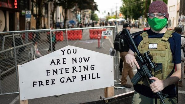 fox news digitally altered photo of capitol hill autonomous zone chaz in seattle