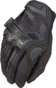 Mechanix black tactical gloves