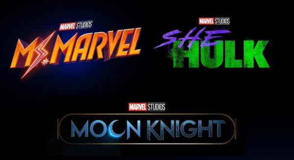 Marvel Phase 4 Ms. Marvel She Hulk Moon Knight