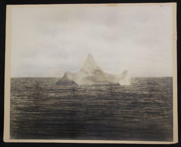 photo of titanic iceberg taken by chief steward of the liner prinz adalbert april 15th 1912 e1593107299485