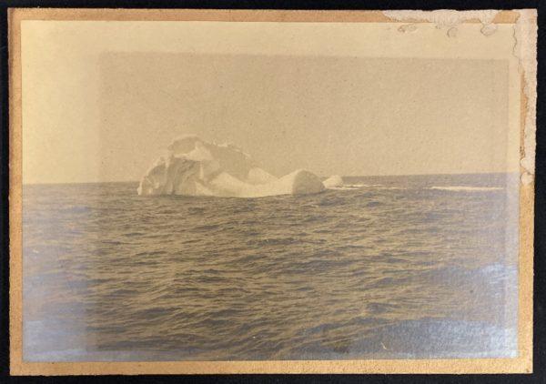 titanic iceberg taken by sam smith from the ss prinz adalbert on april 16 1912 e1593107354766