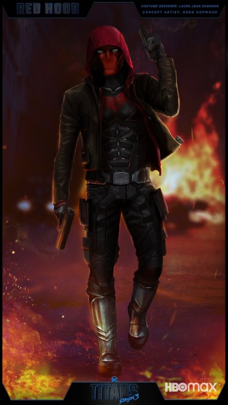 jason todd titans season 3 red hood concept