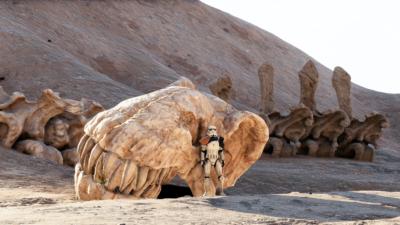 Skeleton of a Krayt Dragon - Star Wars Battlefront