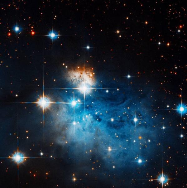Edge of dark nebula Caldwell 99 aka Coalsack Nebula