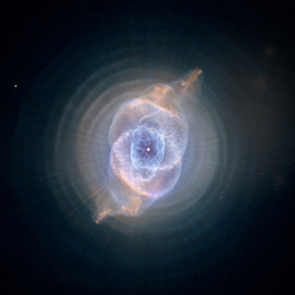 Planetary nebula Caldwell 6 aka NGC 6543