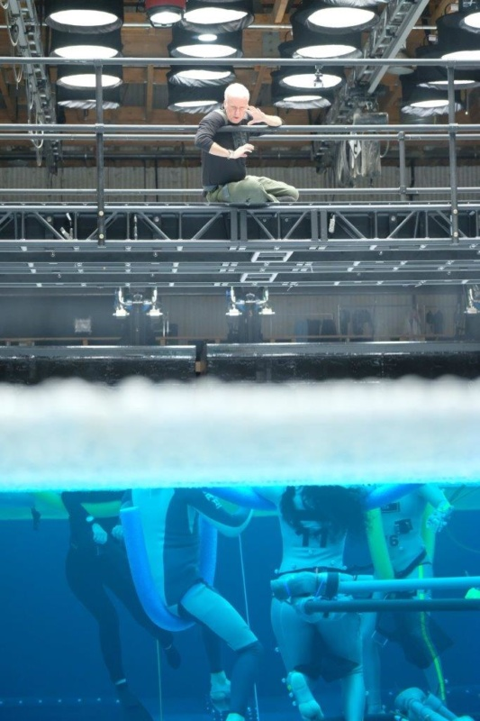 Avatar 2: Actors receiving instruction before underwater filming